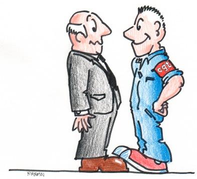 le syndicat CGT des agents de chambres de métiers
